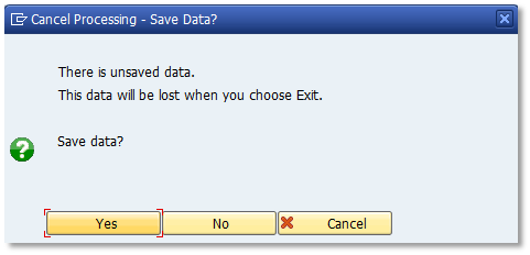 "This dialog box an SAP translation line (""OK"") with two characters, a text with 43 characters!"