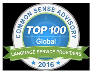 text&form gehört zu den Top 100 der internationalen Sprachdienstleister