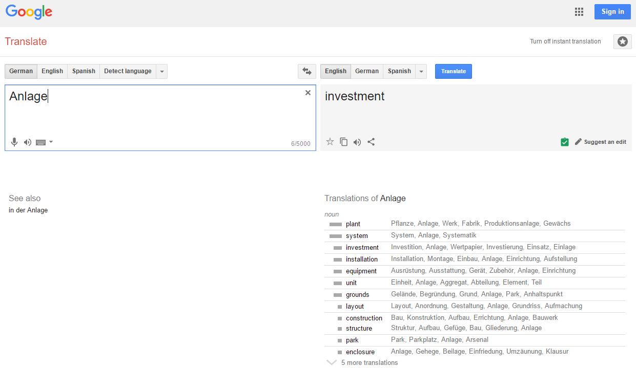 Wie gut kann Google Translate mit zweideutigen Texten umgehen?