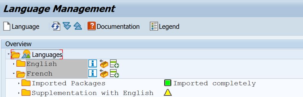 Durch Sprachenpakete lassen sich SAP-Standard-Bilder einfach übersetzen.