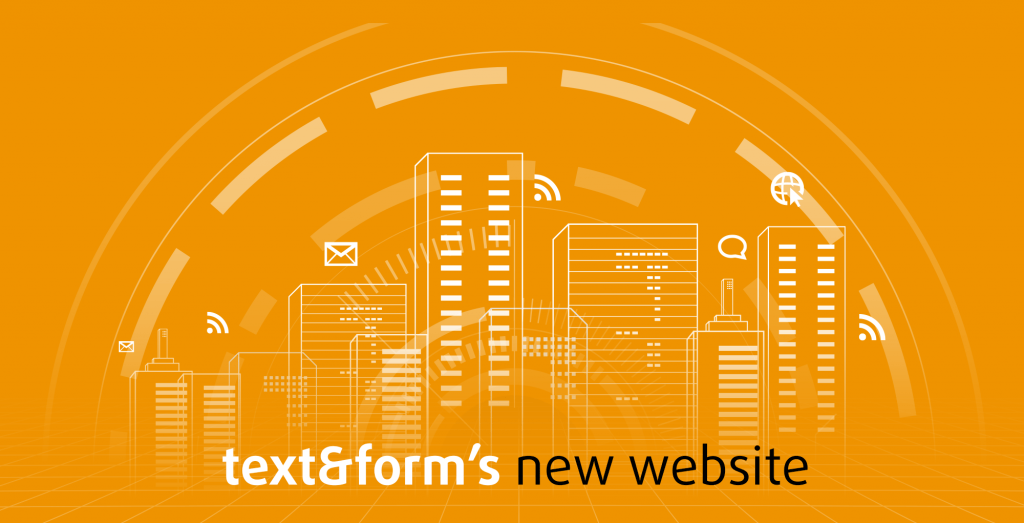 text&form new website