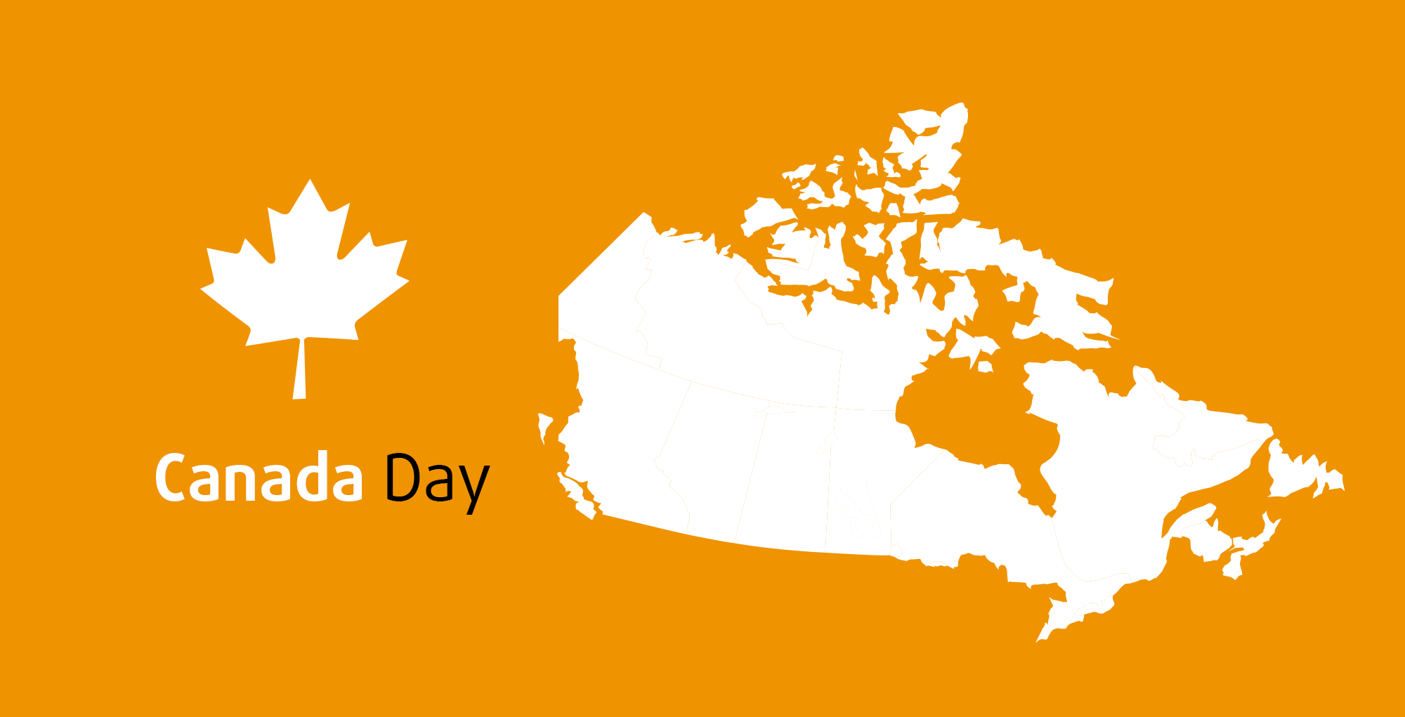 Canada Day 2020 by text&form