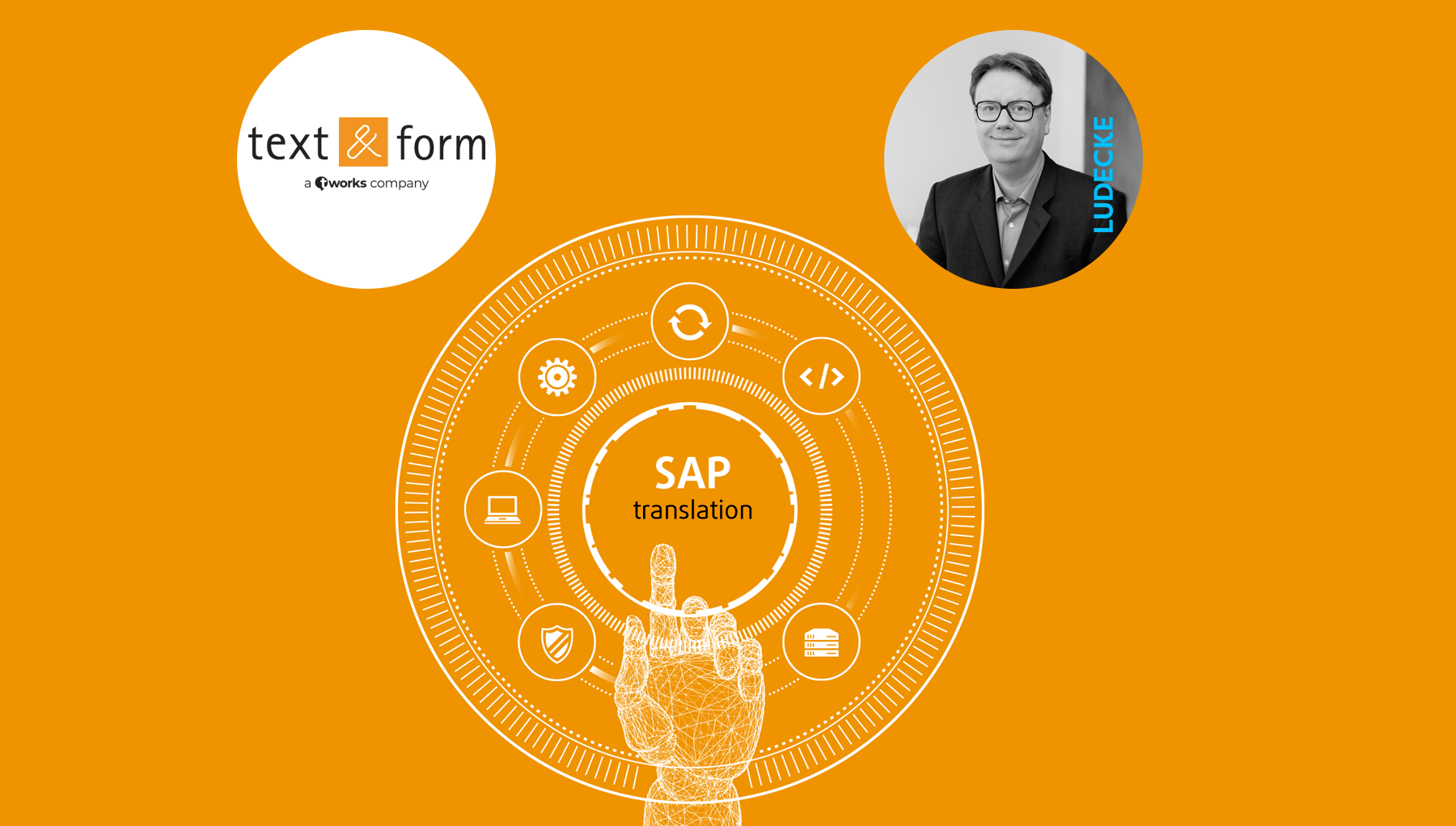 Partnership with LUDECKE, SAP translation at text&form