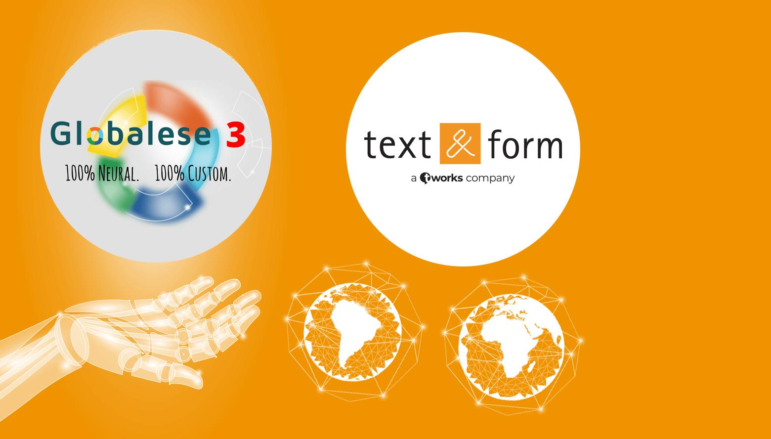 GlobaleseMT ist unser Partner in Sachen neuronale maschinelle Übersetzung