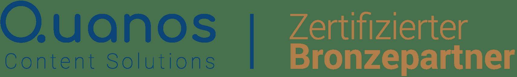 text&form - Quanos zertifizierter Bronzepartner