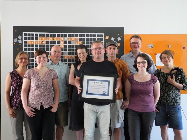 SAP-Sprachdienstleister des Jahres – das SAP-Team von text&form.